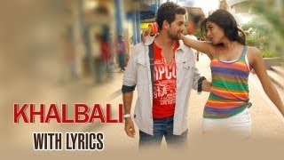 Khalbali Full Song With Lyrics 3G