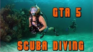 GTA V (5) Where To Find The Scuba Diving Gear (To