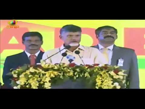 Chandrababu Naidu Full Speech - Swearing In Ceremony - Pawan Kalyan, Balakrishna, Vivek Oberoi