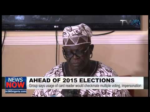 2015 Elections:CODER calls for use of card reader in conduct of elections