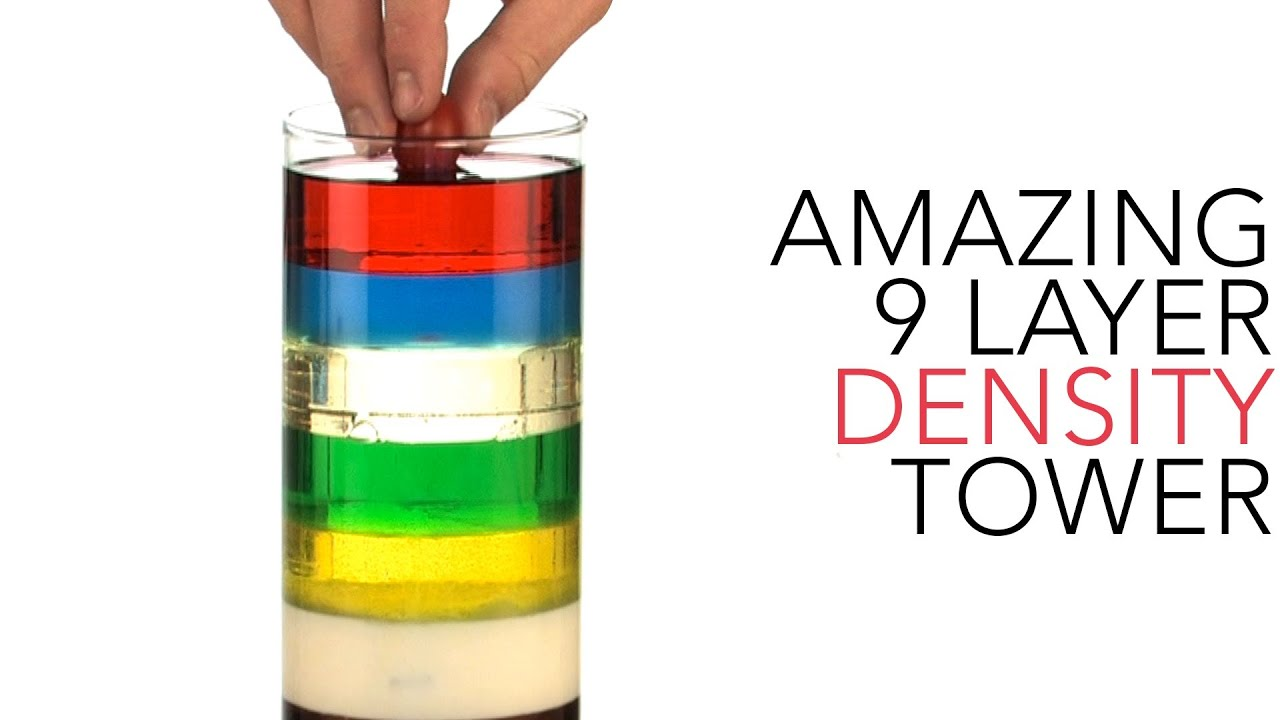 7 layer density column Seven layer density column introduction: have you ever put two different liquids together and observed how they mix together have you ever seen what happens when.