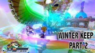 Let's Play Skylanders Swap Force Winter Keep Part 2