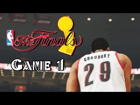 NBA 2K14 Next Gen Center The Rook Ep 45: Finals Game 1 Some Philosphy And Should I Stream?