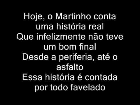 Mc Martinho - Historia Real ( Letra )