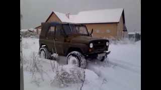 уаз 3151 зима 2012