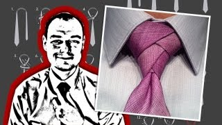 How to Tie a Necktie Eldredge Knot