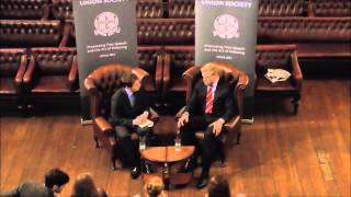 James Haskell at the Cambridge Union Society