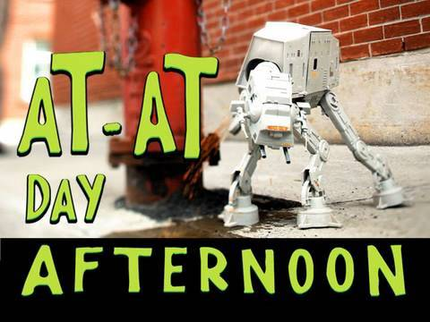 AT-AT DAY AFTERNOON