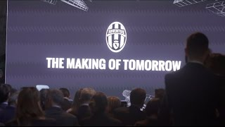 """""""The Making of Tomorrow"""": Juventus meets the sponsors"""