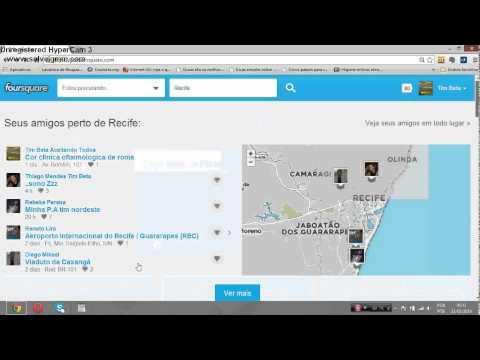 foursquare - Adicionando Muitos Amigos com Código - Operação Beta Lab 2014