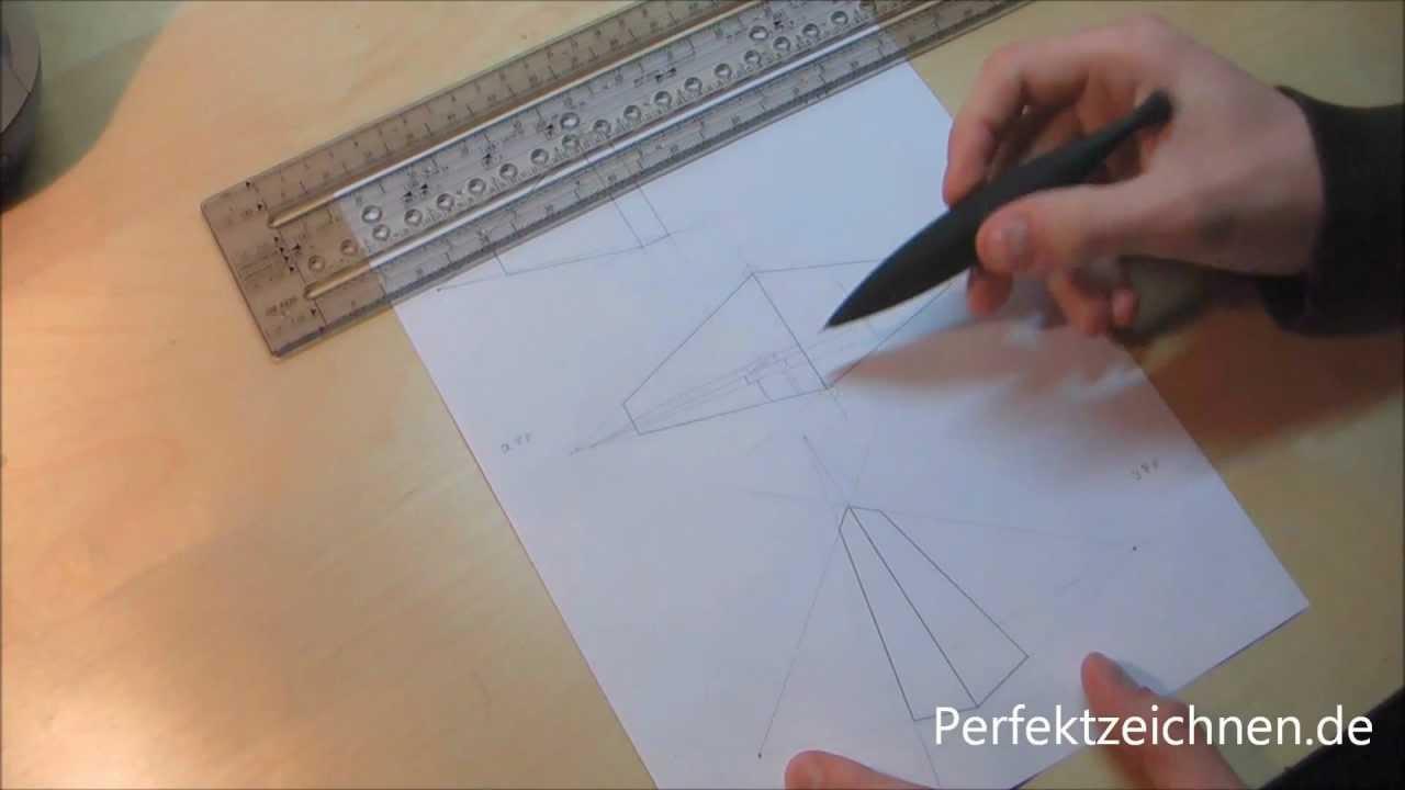 wichtig perspektive zeichnen lernen und verstehen youtube. Black Bedroom Furniture Sets. Home Design Ideas