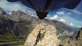 Արկածախնդիր երիտասարդի «մահացու» թռիչքը՝ նկարահանված GoPro տեսախցիկով
