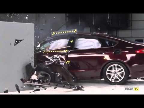 Краш-тест новенького Ford Fusion от IIHS