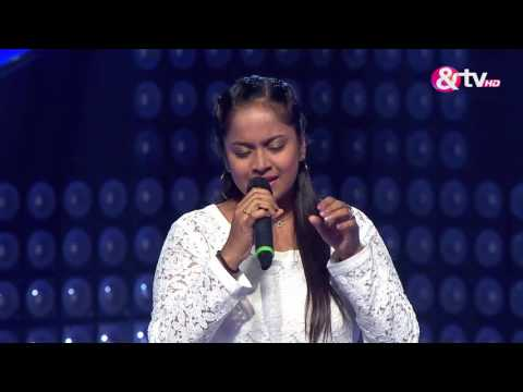 Shwetha Devanahally - Performance - Blind Auditions Episode 8 - January 1, 2017 - The Voice India Season2