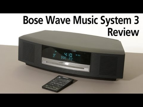 bose wave music system 3 review youtube. Black Bedroom Furniture Sets. Home Design Ideas