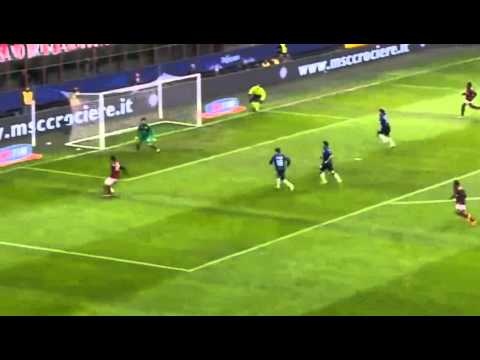 Kaka score his 100 th goal for AC Milan vs Atalanta 1-0 (Serie A 2014) HD