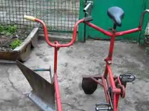 Лебедки для вспашки огорода своими руками видео