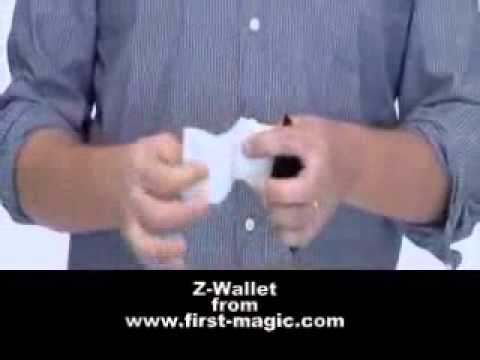 Portefeuille Z - Mini Switch Wallet | http://www.zigzag-import.com
