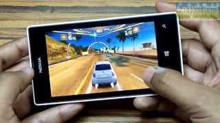Nokia LUMIA 520 HD Gaming Review: ASPHALT 7, NFS HOT