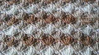 Tutorial Punto Concha Crochet Shell Stitch