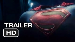 Man Of Steel Official Trailer #2 (2013) Superman Movie HD