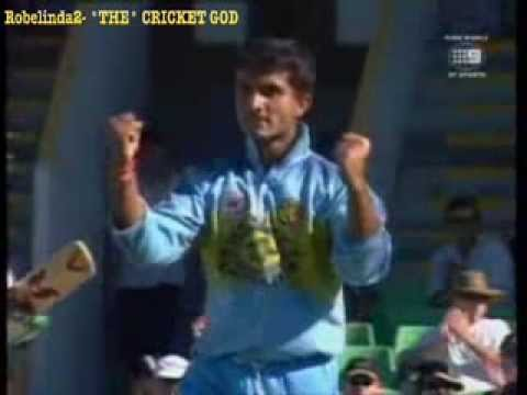 Sourav Ganguly takes 20 wickets- amazing DADA celebrations!