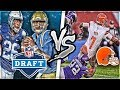 2018 1st Round Mock Draft Team vs Cleveland Browns Madden 18 Experiment