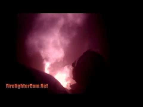 AMAZING FOOTAGE Caught on Fire Helmet Cam