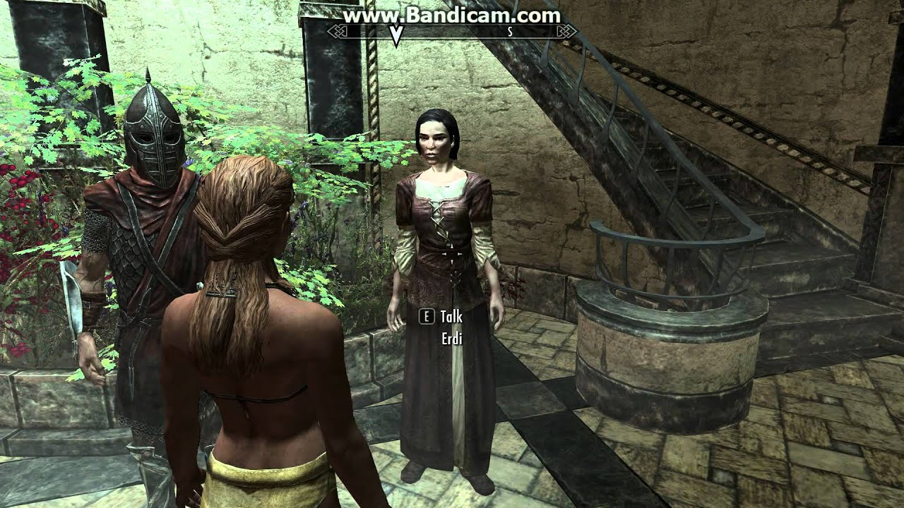 Lets Play Naked Skyrim [11] Contracted the Sanguinare