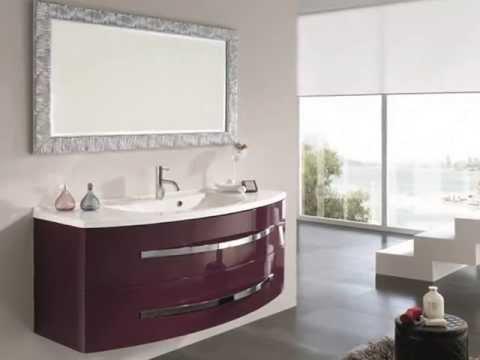 Muebles baño madera modernos