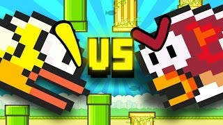 Flappy Bird vs. Splashy Fish