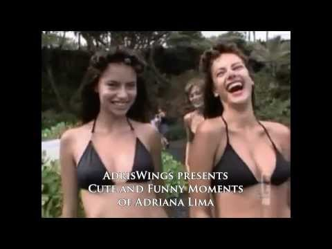 Cute and Funny moments of Adriana Lima