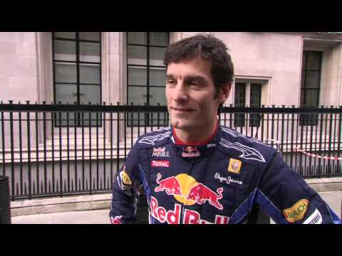 Guerrilla Marketing Example - Red Bull F1 Pitstop with Mark Webber