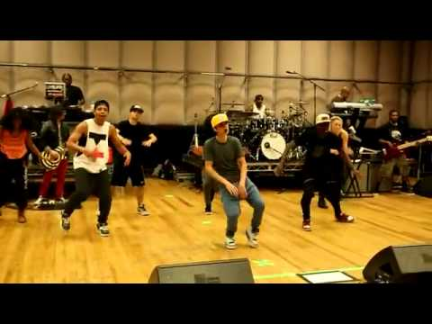 Making of Believe - Justin Bieber dance rehearsals EXCLUSIVE!