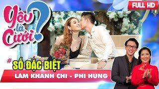 YÊU LÀ CƯỚI? - SỐ ĐẶC BIỆT | 'Nữ hoàng chuyển giới' Lâm Khánh Chi bật khóc khi bạn trai cầu hôn 💍