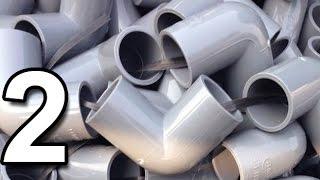4 Sáng Tạo Nhỏ với Ống Nước Nhựa PVC (Phần 2)