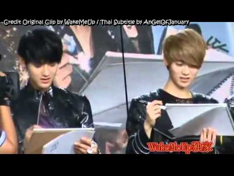 [Thai Sub FANCAM]120705 EXO-M Drawing Game [Crocodile] at China Love Big Concert Recording, Credit Original Clip Video: WakeMeUp Credit English Trans: jjangheejin