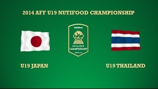 U19 Japan Vs U19 Thailand Semi-final 2 2014 AFF U19