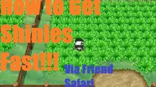 Pokemon X And Y How To Get Shiny Pokemon FAST!!! (Friend
