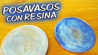Cómo hacer posavasos de resina