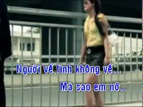 Trang giay trang  Karaoke beat Pham Truong