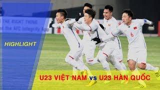 Highlight | U23 Việt Nam rơi điểm đáng tiếc trước U23 Hàn Quốc tại VCK U23 Châu Á 2018
