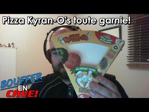 Bouffer en Cave - 24 - Pizza Kyran-O's toute garnie!
