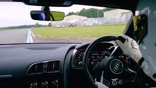 StigCam: Audi R8 V10 Plus - Top Gear. Watch online.