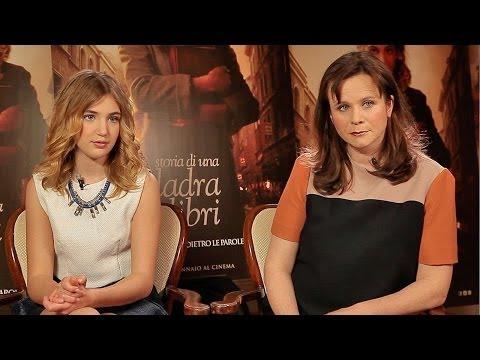 Intervista a Sophie Nélisse e Emily Watson protagoniste del film Storia di una ladra di libri