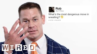 John Cena Answers Wrestling Questions From Twitter   Tech Support   WIRED