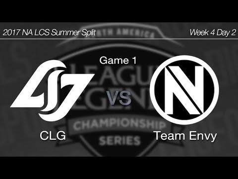 [ CLG vs Team Envy ] Game 1 - 2017 NA LCS Summer Week 4 Day 2 170625