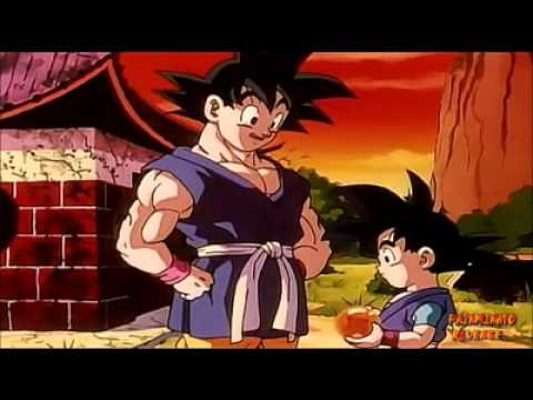 Son Goku trifft Son Goku jr.