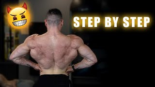 BACK Workout | Step By Step | Day 28