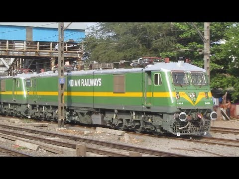 Brand New Kalyan WAG9 Locomotives : Green Beast of Indian Railways !!